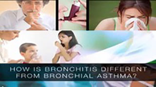 How Is Bronchitis Different From Bronchial Asthma