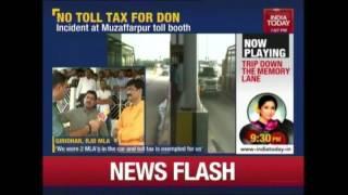 100 Vehicles Of Shahabuddin's Convoy Exempted Toll