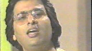 Doordarshan TV Recording 1984 Mere saath tum bhi dua karo and three more ghazals.