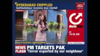 Hyderabad On High Alert After Rains, Army Deployed In Worst Hit Areas