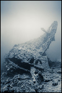 Fine art photography: Wreck of The SS Dunraven, Red Sea, Egypt, by Nigel Merrick