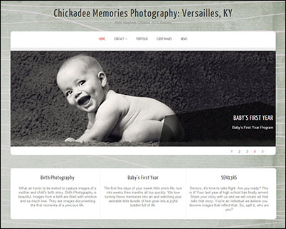 Chickadee Memories blog