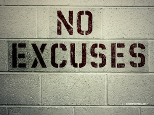 Excuses, excuses – Overcome the top 5 excuses about your health.