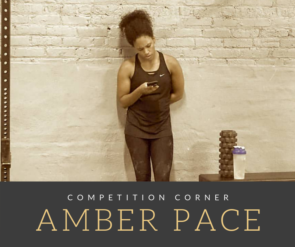 Competition Corner:  Amber Pace