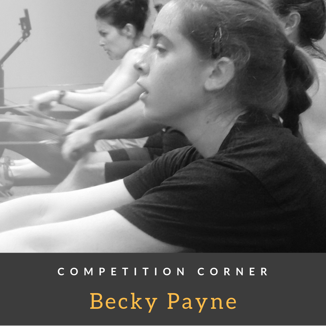 Competition Corner: Becky Payne