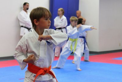 Martial arts improves focus and concentration.
