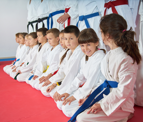Gain Self-Confidence Through Martial Arts