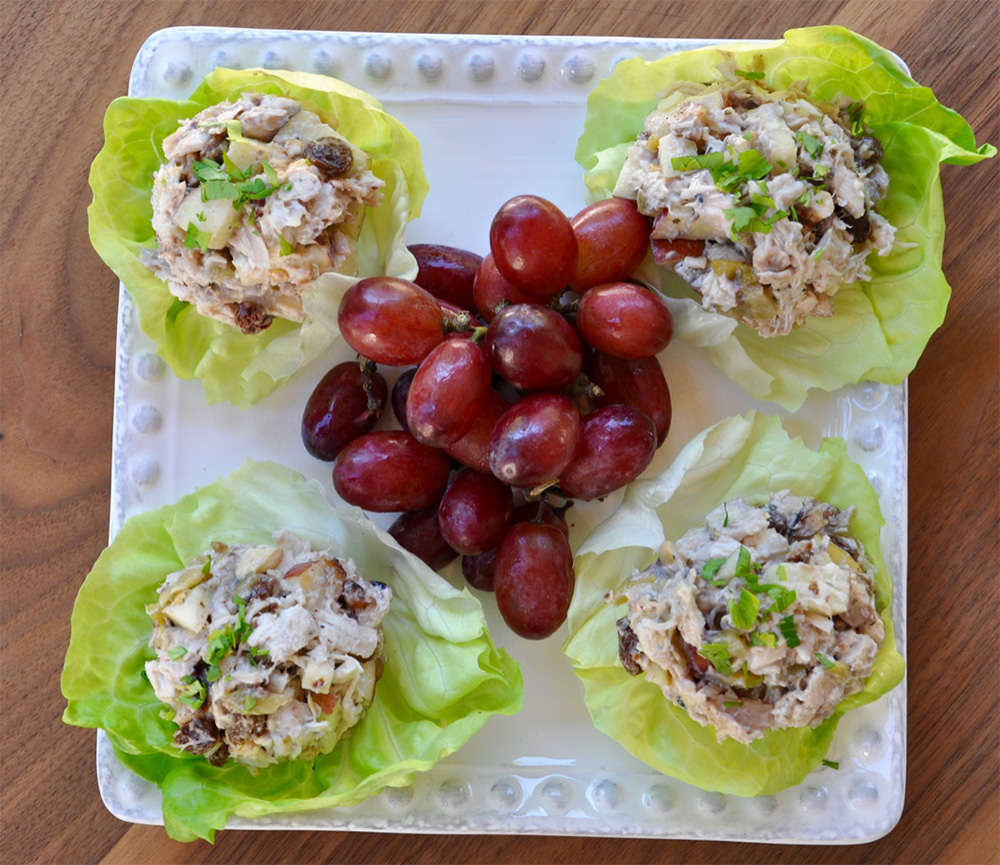 Chicken Lettuce Boats