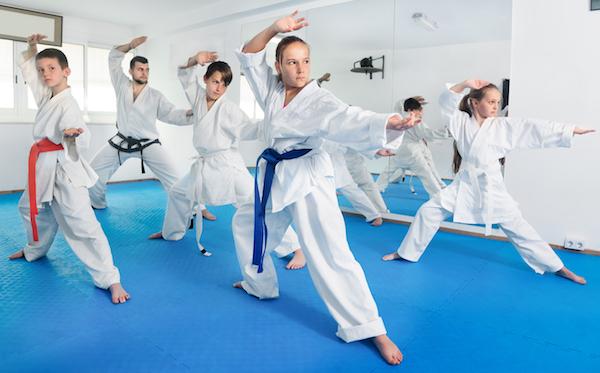 Gain Self-Confidence Through Martial Arts