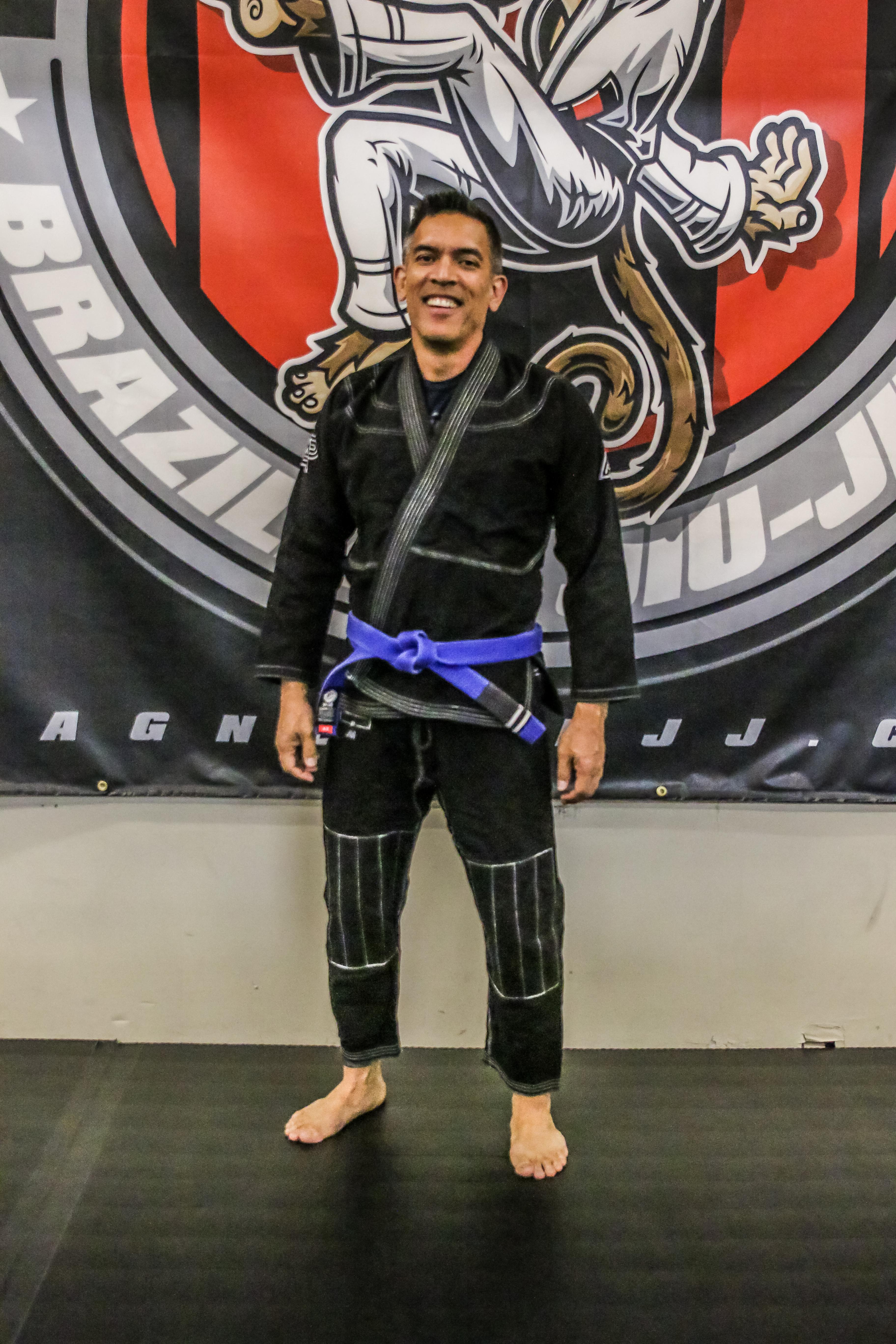 Jiu-Jitsu is a great workout!