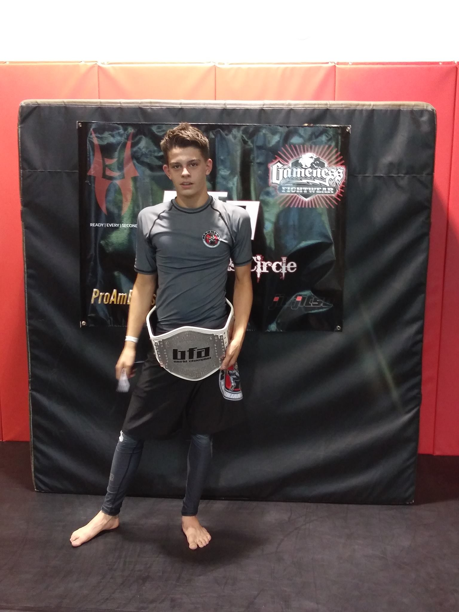 Cedar Hill BJJ is home of the BFA lightweight champion!