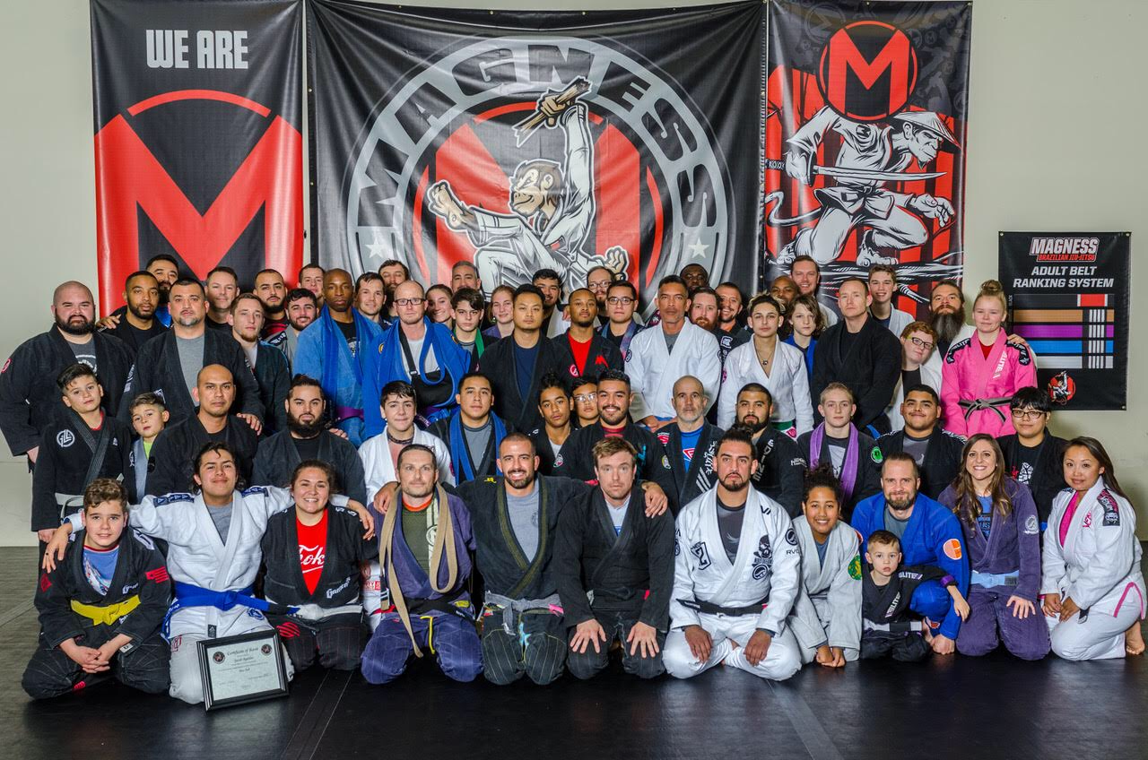 Magness BJJ December 2018 Belt Promotions!
