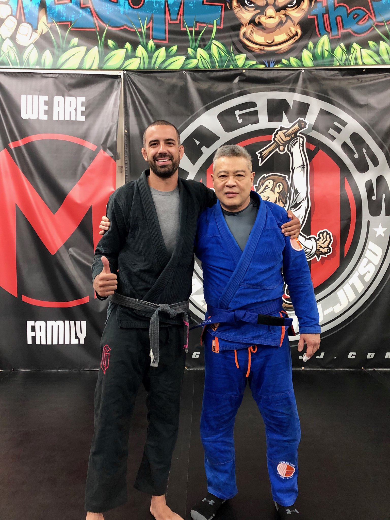 Congratulations to our newest blue belt!