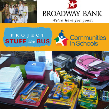 PROJECT 'STUFF THE BUS' SCHOOL SUPPLY DRIVE