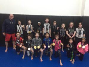 Brazilian Jiu Jitsu Kids Competition Team