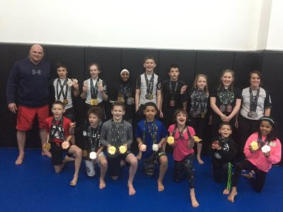 Brazilian Jiu Jitsu Kids Competition Team