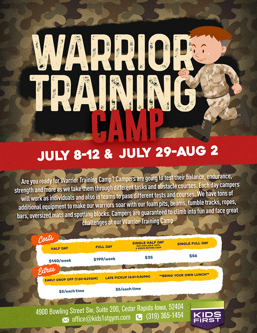 Warrior Training Camp