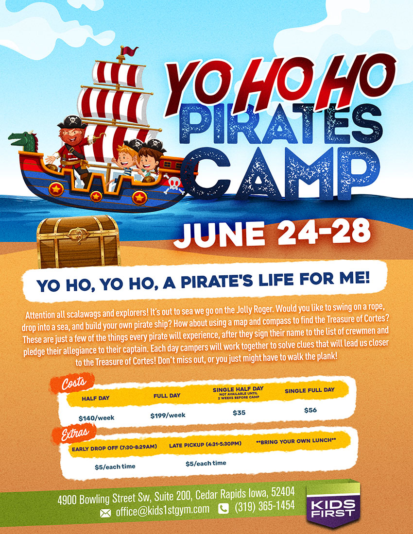 Yo Ho Ho Pirates Camp