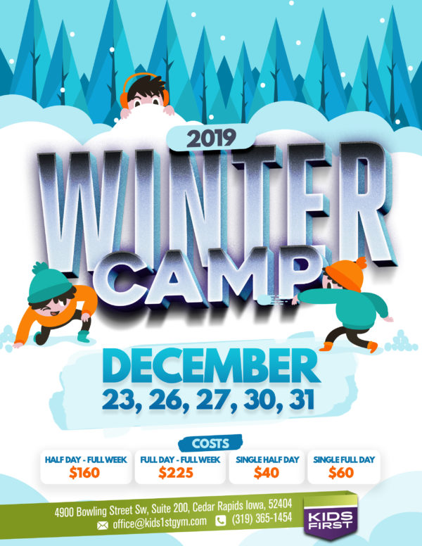 Winter Camp – ONLY 3 Weeks Away!