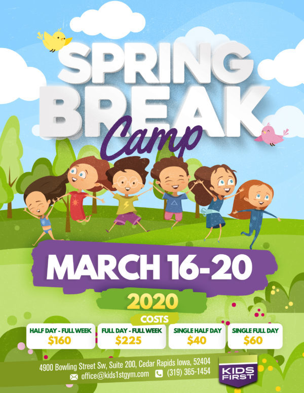 Spring Break Camp – 3 Weeks Away