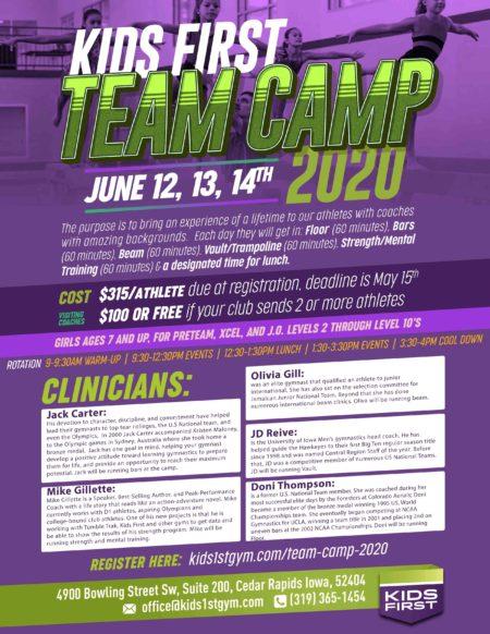 Team Camp 2020