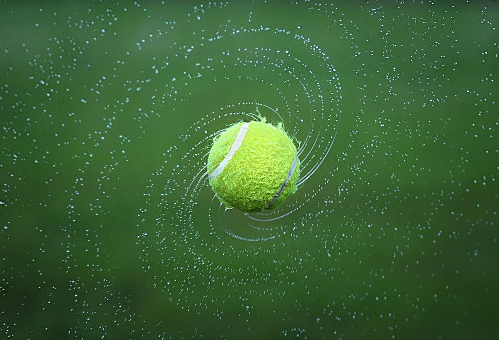 Tennis Lesson 3 – Countering the High Ball
