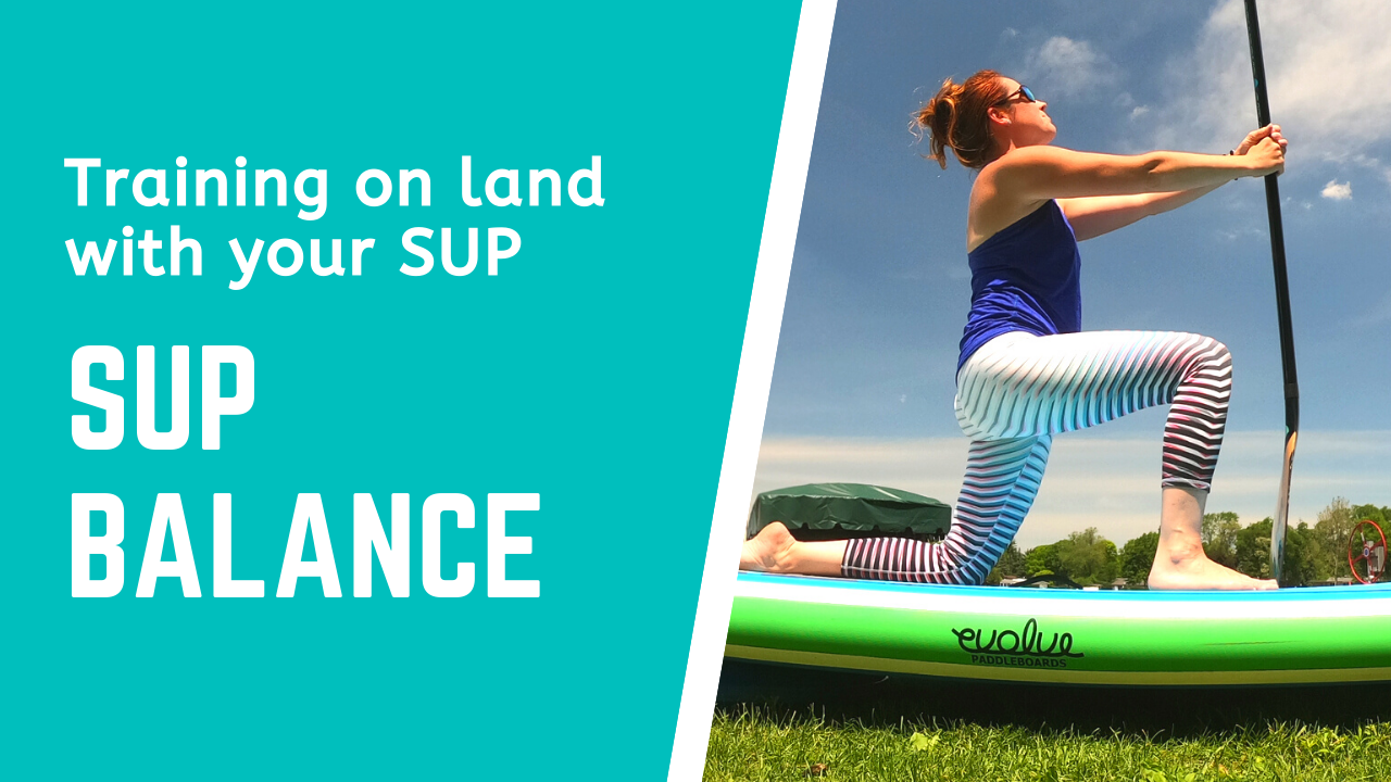 Training on land with your SUP