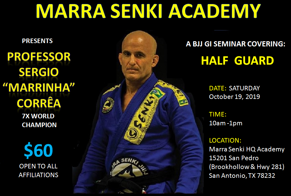 Prof Marra Half Guard Seminar
