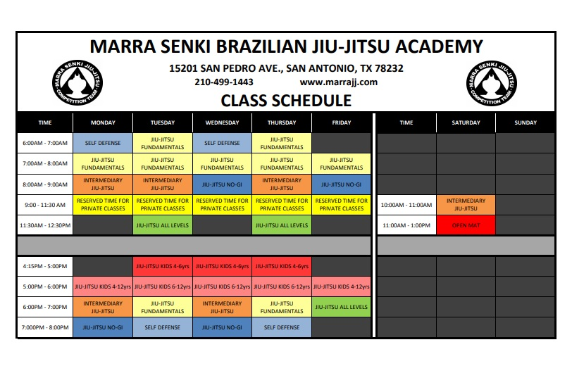 New Schedule Begins Sept 4
