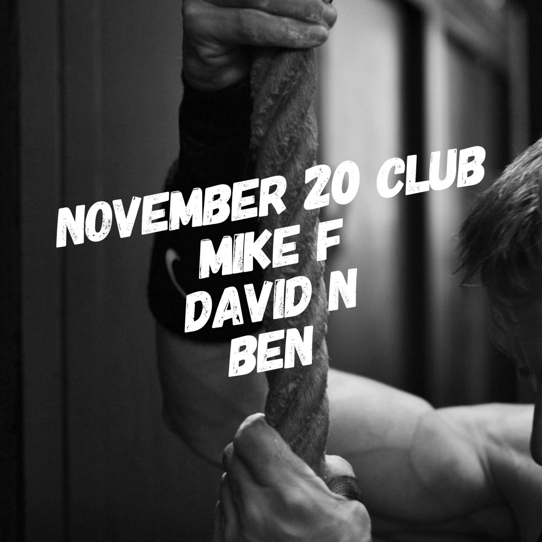 November 20 Club