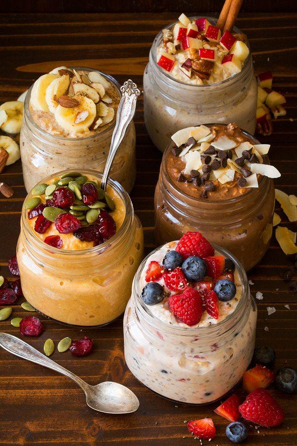Easy Overnight Oats – 5 Healthy Recipes