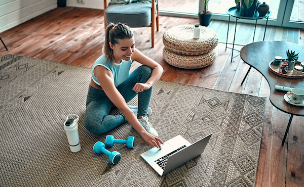 4 Reasons Zoom Fitness Classes are Perfect for At-Home Workouts