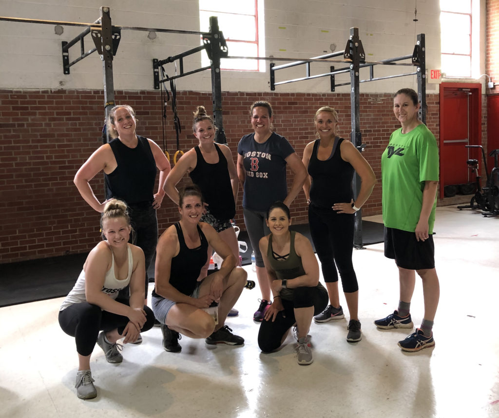 Fitness group working out at CrossFit TYL