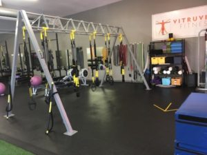 TRX Suspension Training Group Exercise Class