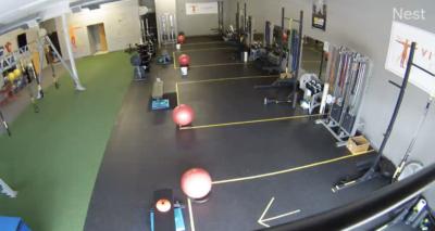 Vitruvian Fitness Training Floor