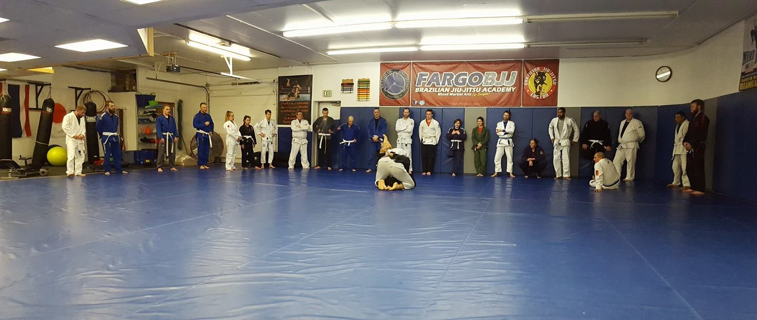 What it's like to try a class at Fargo BJJ?