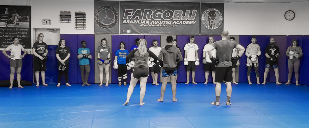 Kickboxing classes in Fargo