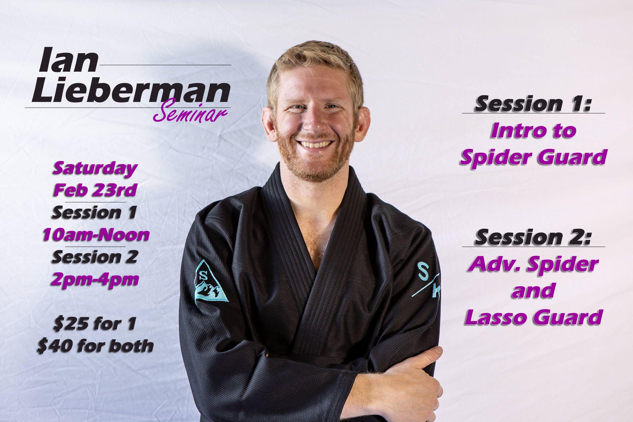 Ian Leiberman Seminar 2019