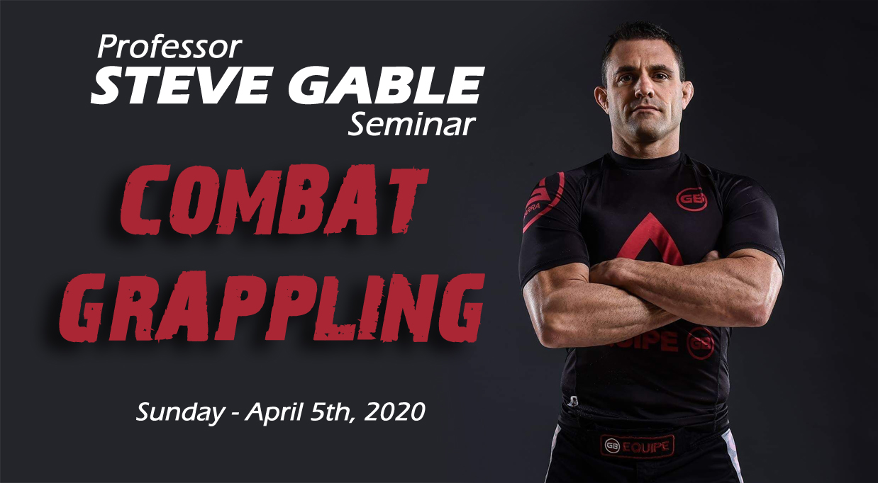Steve Gable Seminar 2020 – *** CANCELLED ***
