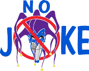 No Joke Mixed Martial Arts Logo