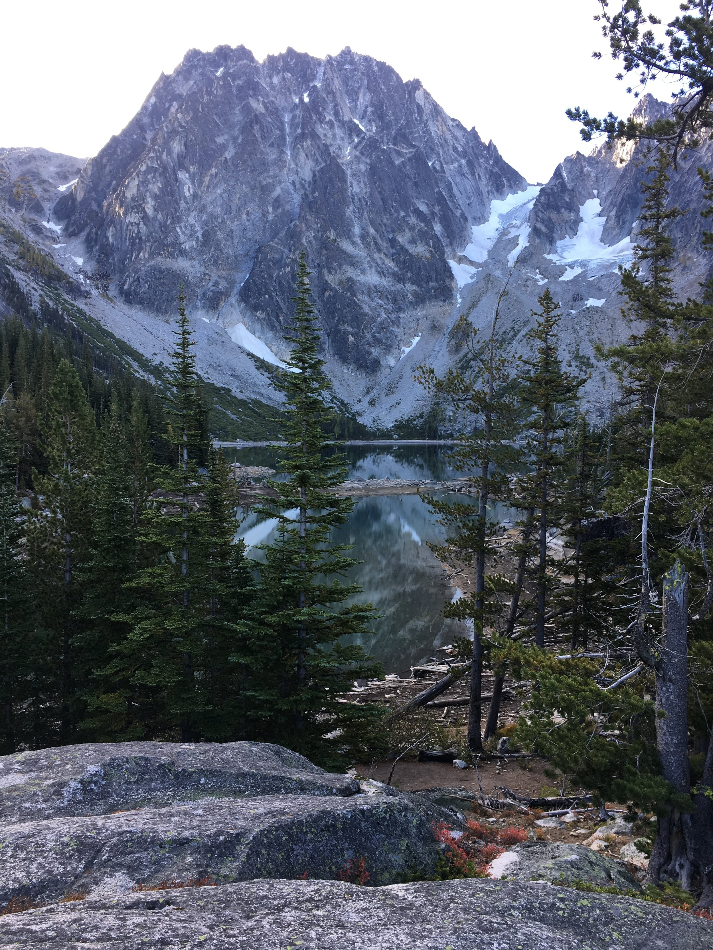 Hiking through Altitude Sickness in The Enchantments