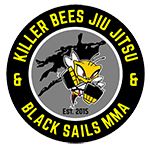 Killer Bees Jiu Jitsu and Black Sails MMA Logo