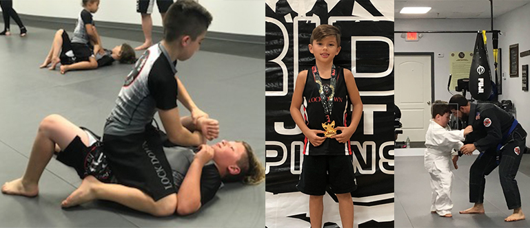 Kids Martial Arts, BJJ and Kickboxing