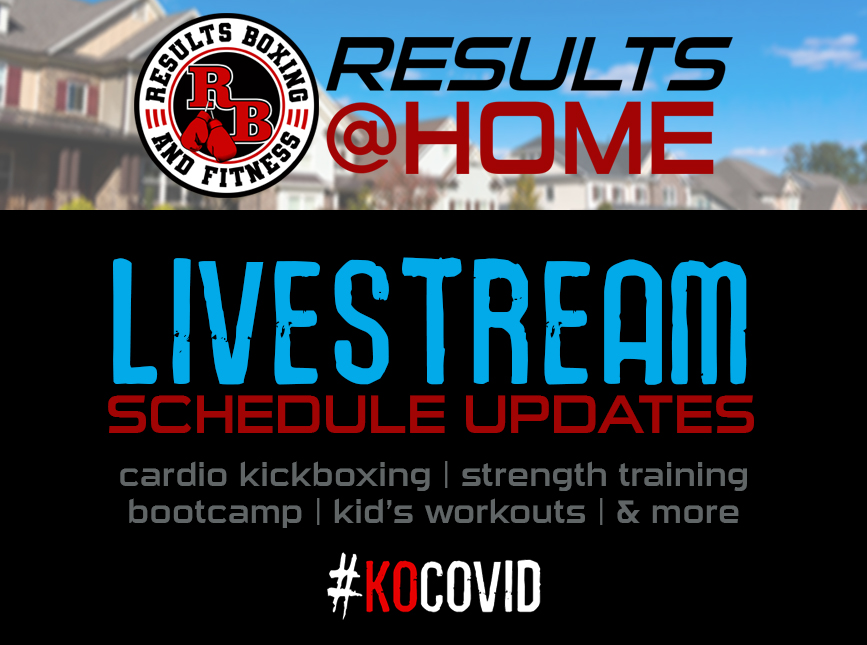Results@Home Live Stream Class Schedule