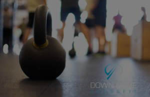 kettle bells on gym floor