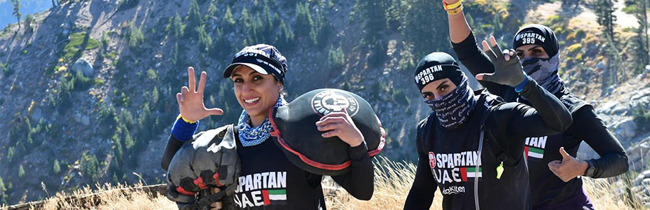 Women Participating in Spartan Race