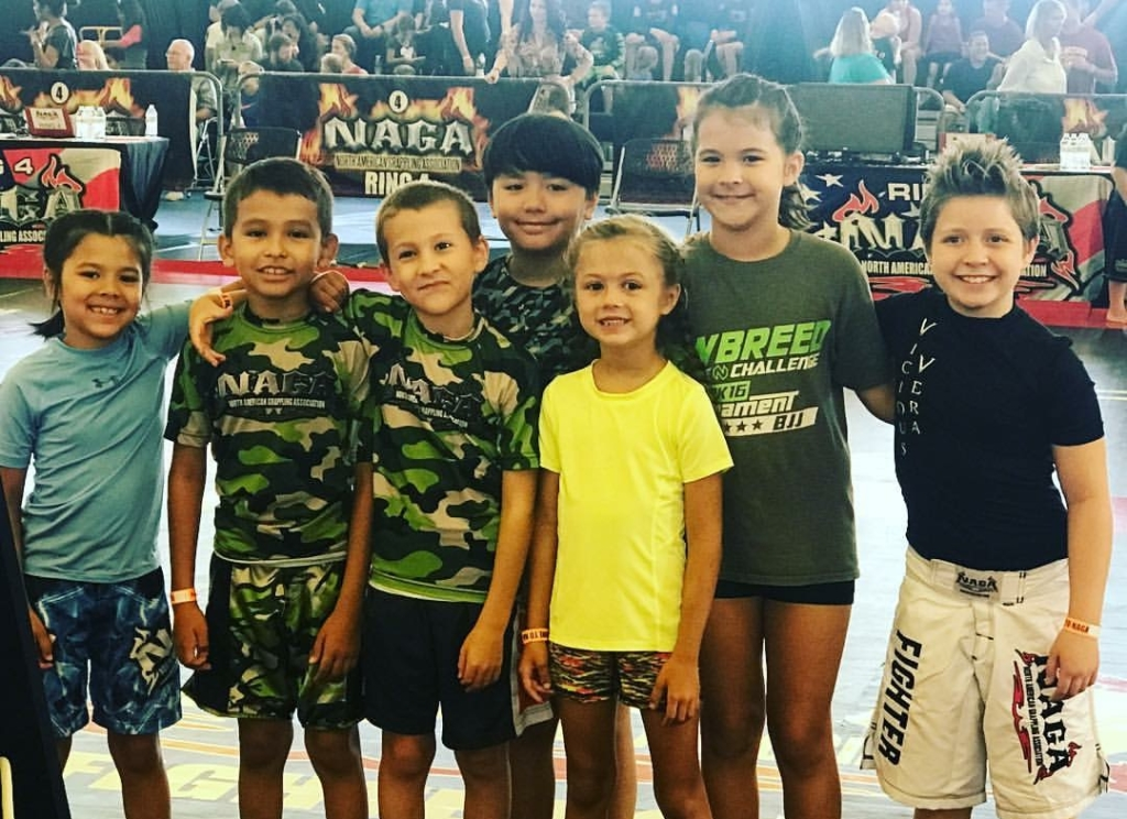 camden combat group kids fitness