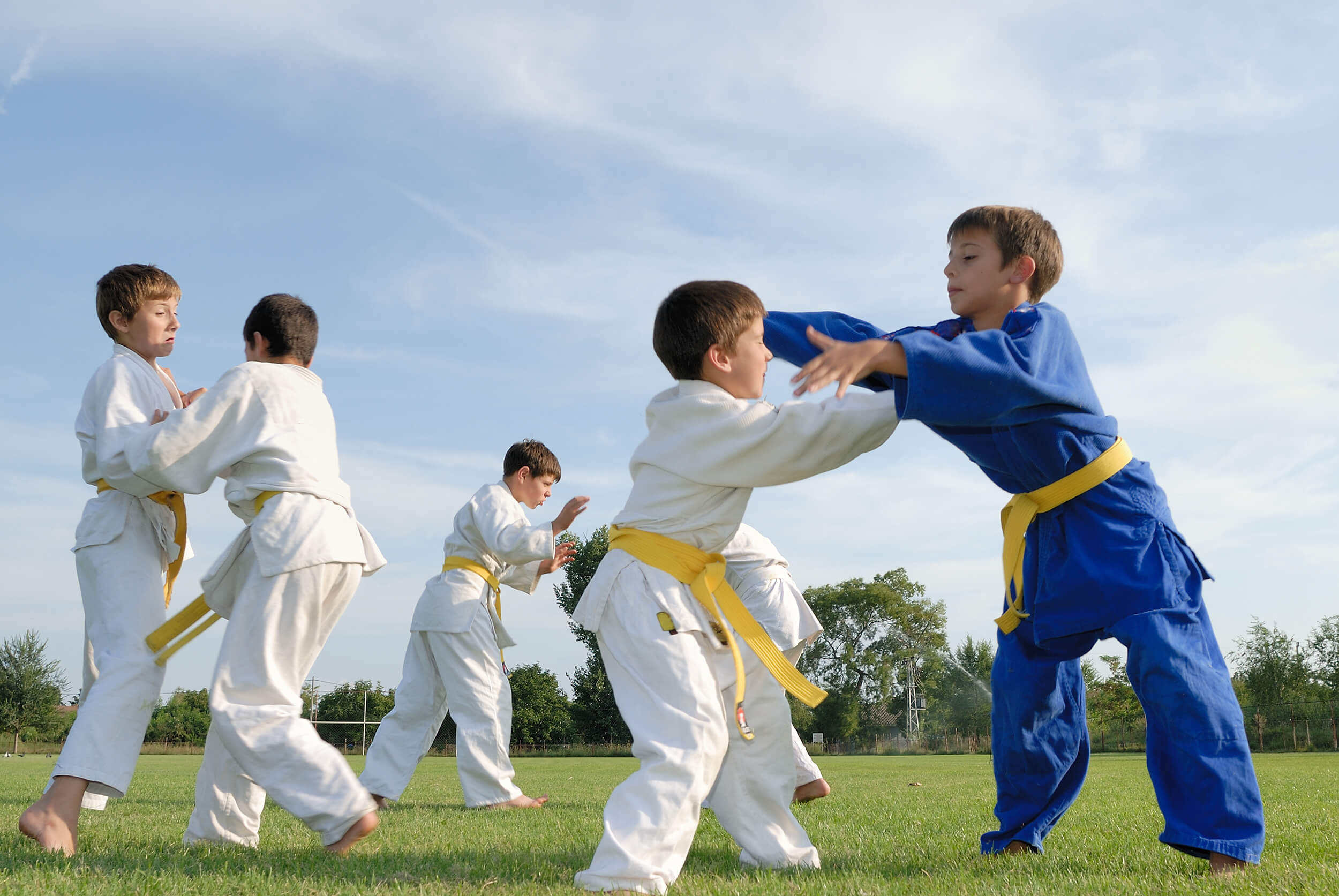 5 Benefits of Martial Arts Competition
