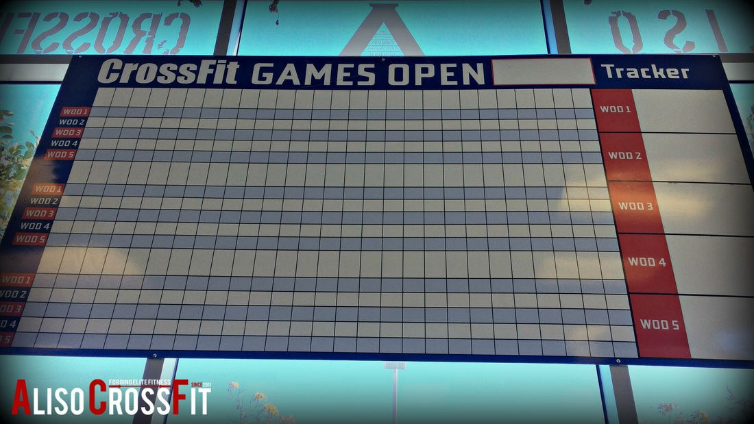 The 2019 CrossFit Games Open