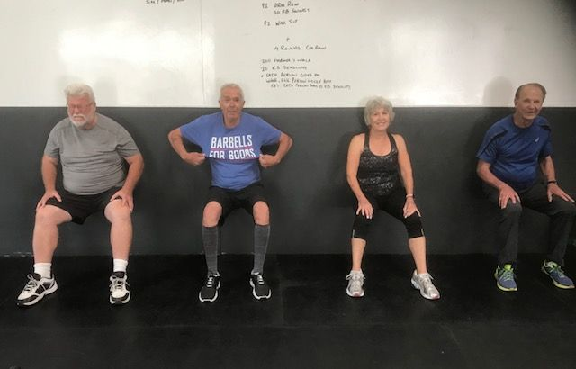 Workout: Monday 10/15/2018